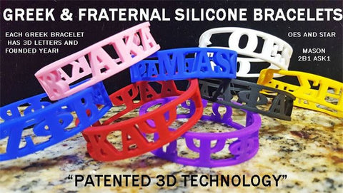Alpha Patented 3D Wristband