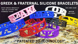 Zeta Patented 3D Wristbands