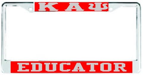 Kappa Educator Red/Silver