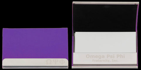 Omega Curved Business Card Case