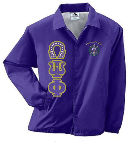 Omega Crossing Jacket w/ 20 Pearls