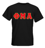 Phi Mu Alpha Basic Applique Tee