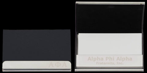 Alpha Curved Business Card Case