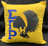 SGRho Silhouette Pillow