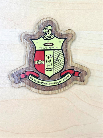 Kappa Large Wood Crest