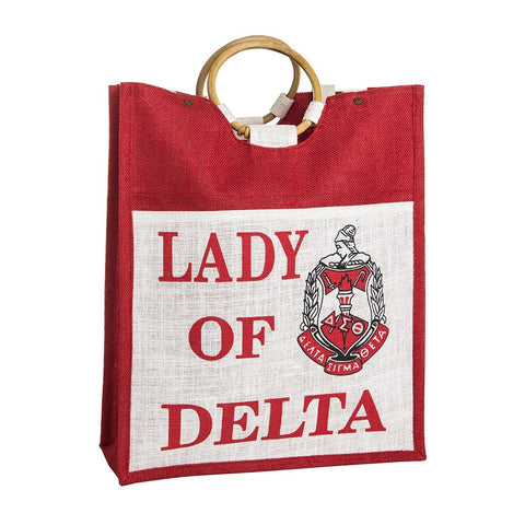 Delta Pocket Jute Bag