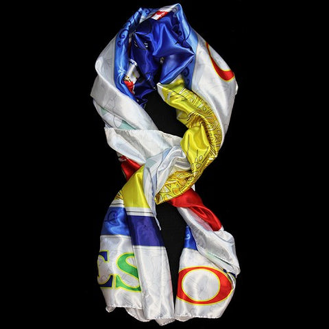 OES Polyester Satin Scarf