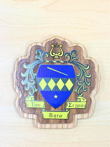 Large TBS Wood Crest