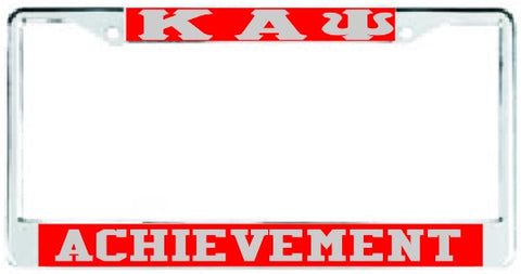 Kappa Achievement Red/Silver