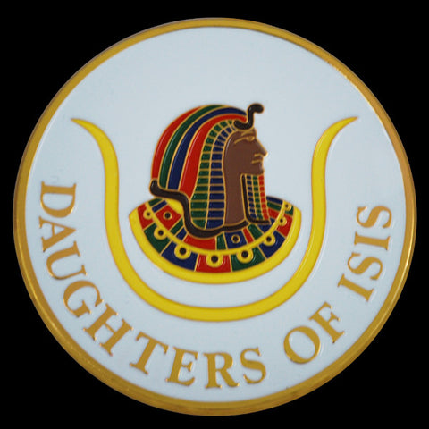 Daughters of ISIS Round Auto Emblem