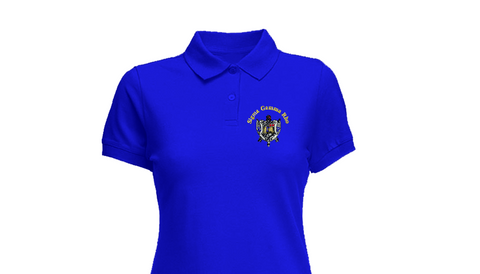 SGRho Polo w/ Crest
