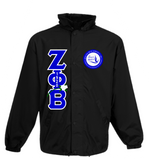Zeta Crossing Jacket Rose and Pearls