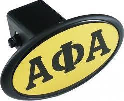 Alpha Domed Trailer Hitch Cover