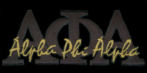 Alpha Black Signature Patch