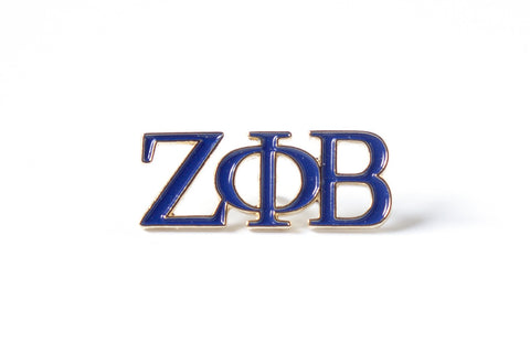 Zeta 3 Letter Color Pin