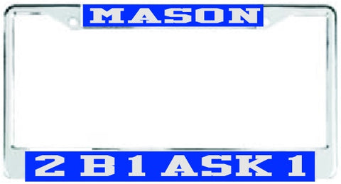 Mason ASK Auto Frame Royal/Silver