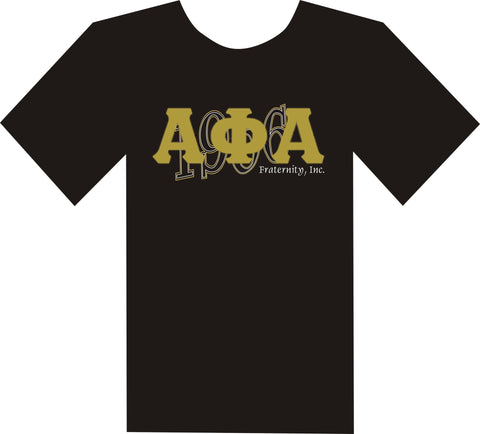 Alpha Date Applique Tee