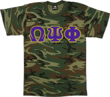 Omega Basic Camo Applique Tee