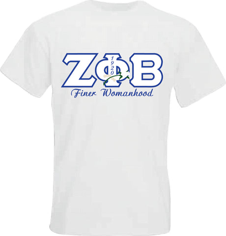 Zeta Finer Womanhood Tee