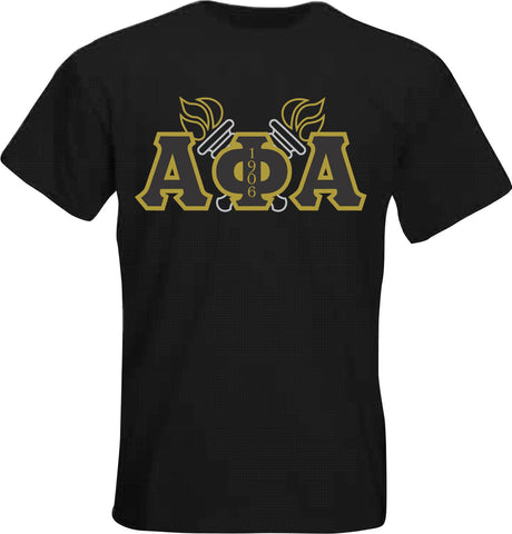 Alpha Torches Applique Tee