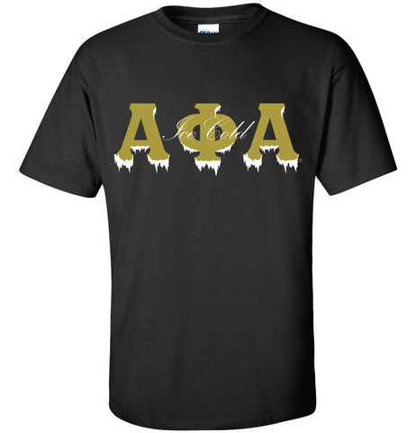 Alpha Ice Cold Applique Tee