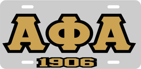 Alpha APA 1906 Tag Silver/Gold/Black