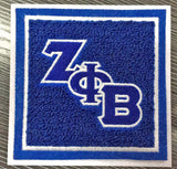 Zeta Chenille Coaster Set