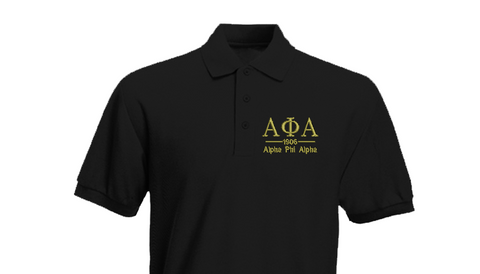 Alpha Greek Letter Polo