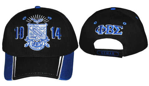 Sigma Striped Bill Cap