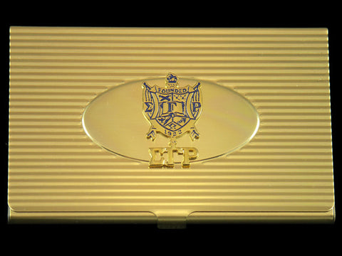SGRho Gold Business Card Case