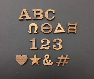 Peel-n-Stick Letters ( 3/4 in )