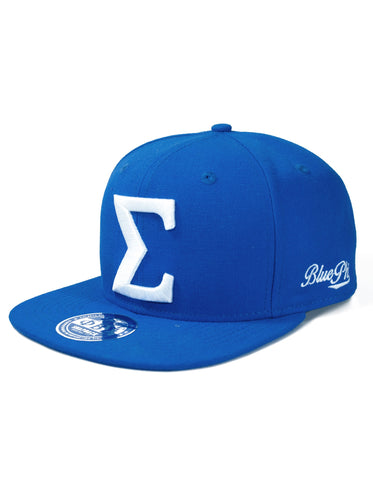 Sigma Greek Snap Back Cap