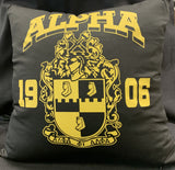 Alpha Crest Pillow