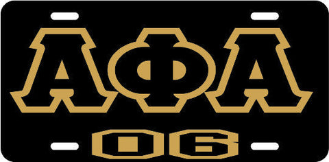Alpha APA 06 Tag Black/Black/Gold
