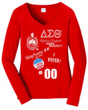 Delta Alpha Chapter Vote Tee