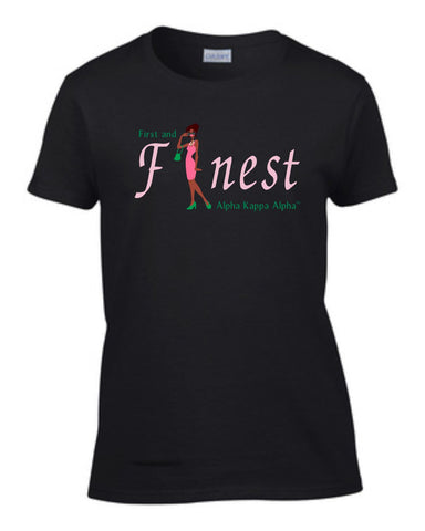 AKA Lady First and Finest Tee
