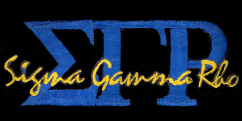 SGRho Blue Signature Patch 2 Inch