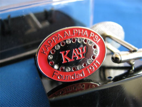 Kappa Bling Cuff Links