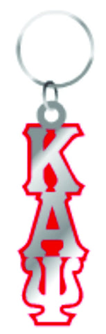 Kappa Large Letter Mirror Keychain