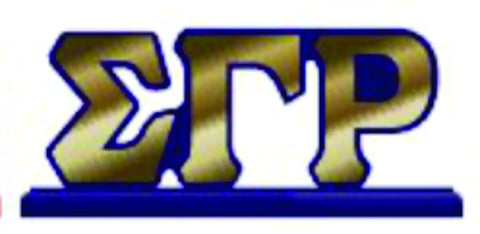 SGRho Desktop Letters with Color Base
