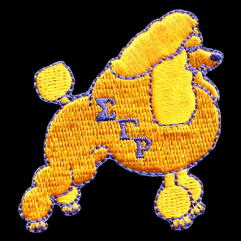 SGRho Poodle 12 Inch Patch