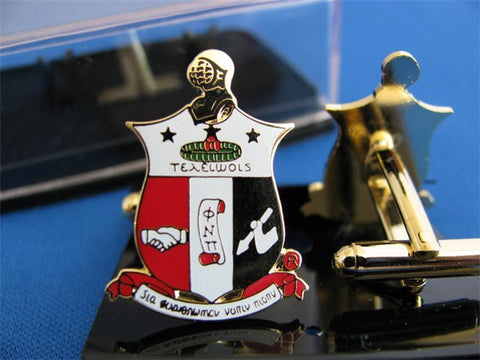 Kappa Crest Cuff Links