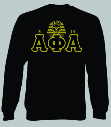 Alpha Rising Pharaoh Crewneck