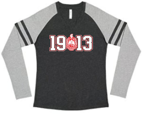 Delta 1913 Crest Gameday Long Sleeve