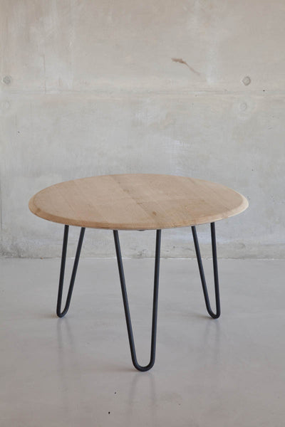 Wine Top Hairpin Side Table
