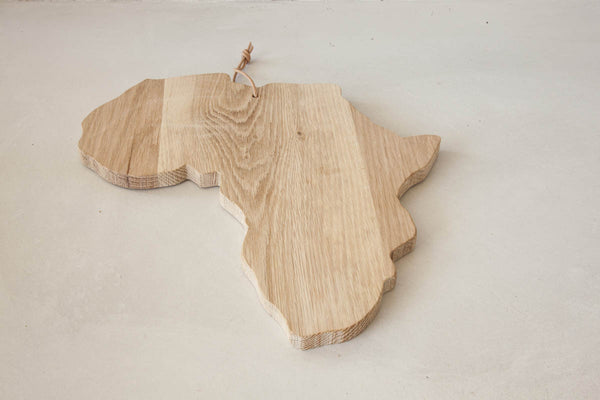 Africa Shape Board