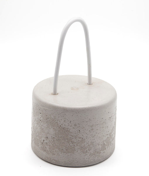 Cement Door Stop with Handle