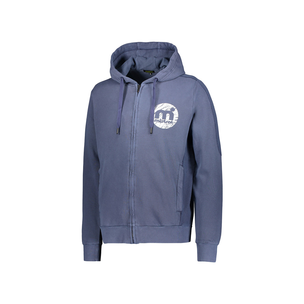 Mistral Hooded Sweat with Zipper various Colours
