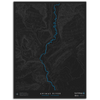 CUSTOM RIVER TOPO MAP