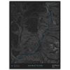 ANIMAS RIVER TOPO MAP - UPPER ANIMAS, CO